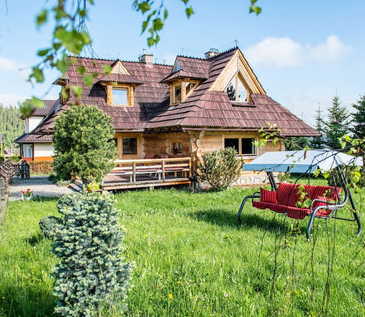 Tatra-Zakopane-Love Dom z Widokiem na Tatry