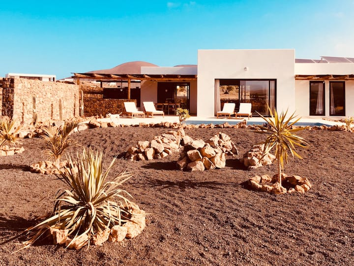 New Villa Lajares - Casa Belza - Piscine Privée