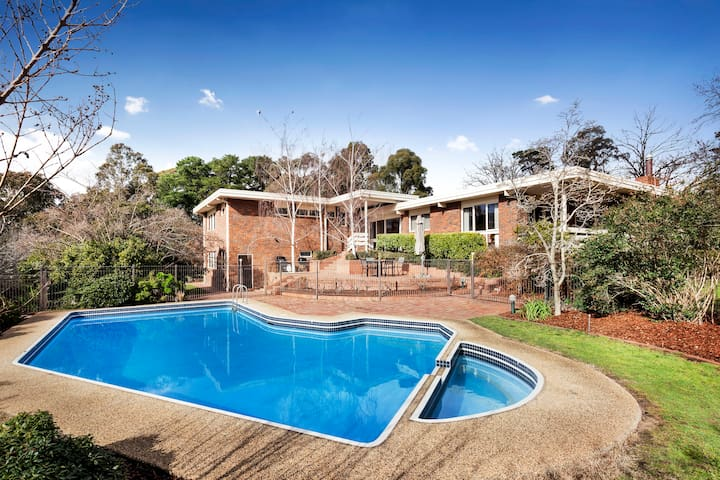 Quiet and Huge Family House - Templestowe - Casa