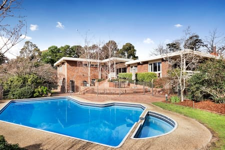 Quiet and Huge Family House - Templestowe - Hus