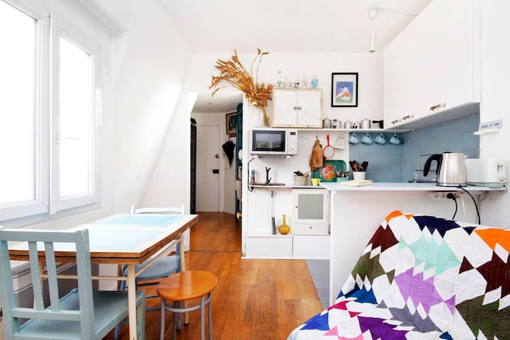 Charming flat close to montmartre