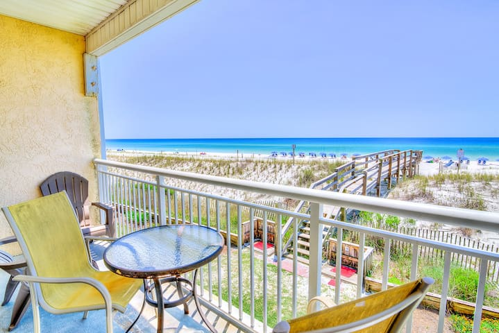 Island Sands 206 -*Avail 5/1-5/6 *RealJoy Fun Pass -Gulf Front Okaloosa - Fort Walton Beach - Byt