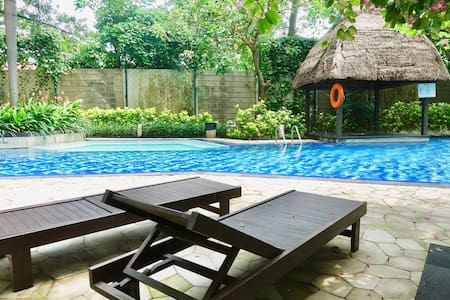 Cozy place lagoon pool view @ south