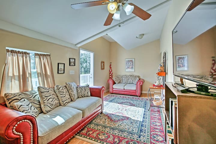 Apartment on Bayou Dularge w/ Boat Launch & Deck!