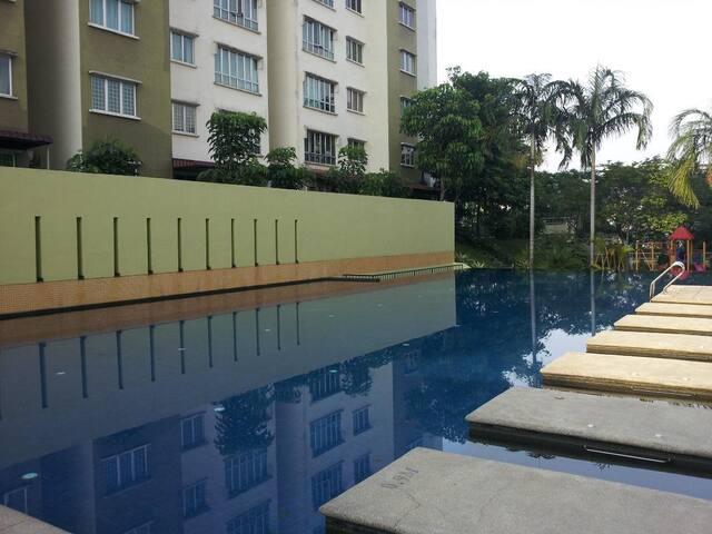 Bukit Jalil, simple and nice room - Kuala Lumpur - Condomínio