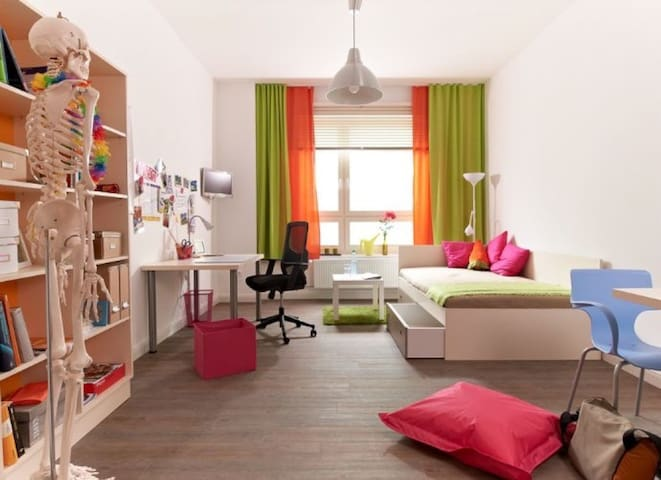 a Cozy colorful studio in the heart of Leipzig