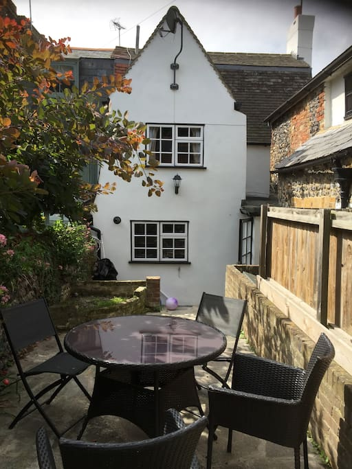 outside sunny space