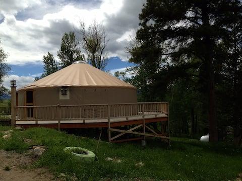 Montana Yurt