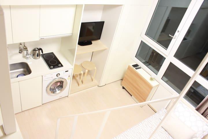 Duplex flat near Hongdae /Itewon #2 - Yongsan-gu - Appartamento