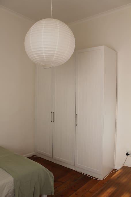 Bedroom - cupboard space