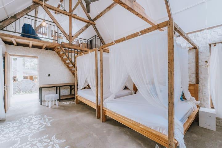 Quadruplet Loft in Jimbaran 5-Stars Neighbourhood