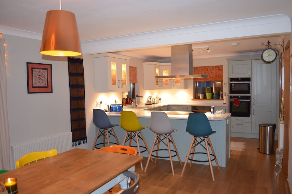 Luxury contemporary country house near st andrews for Luxury kitchens scotland