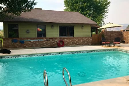 Guest House-Ranch w/pool; Mt Biking~Hiking~Rafting