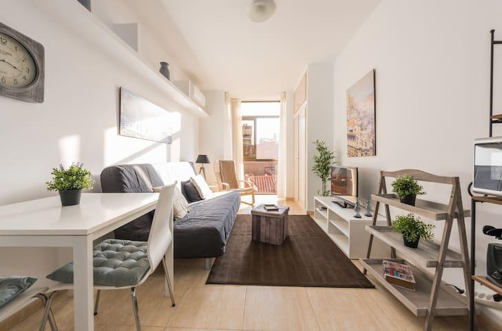 INEXPENSIVE, FULLY EQUIPED STUDIO - Madrid - Apartment