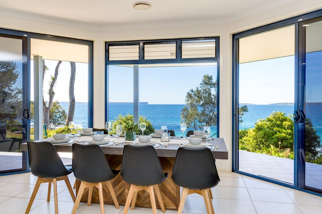 Your stunning beach house is designed to take full advantage of its extra wide frontage directly overlooking the beach.