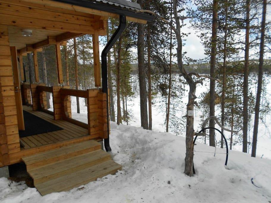 sauna and sauna water place