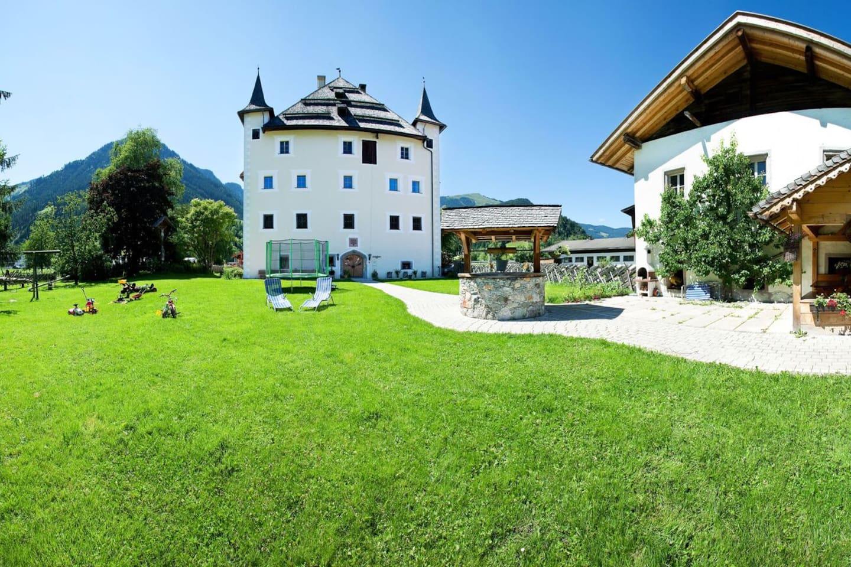 Castle with garden