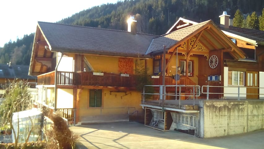 Berg-und Seeblick Chalet Bellevue - Beatenberg - Appartement