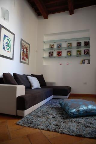 Appartamento elegante in centro storico Foligno - Foligno - Appartement