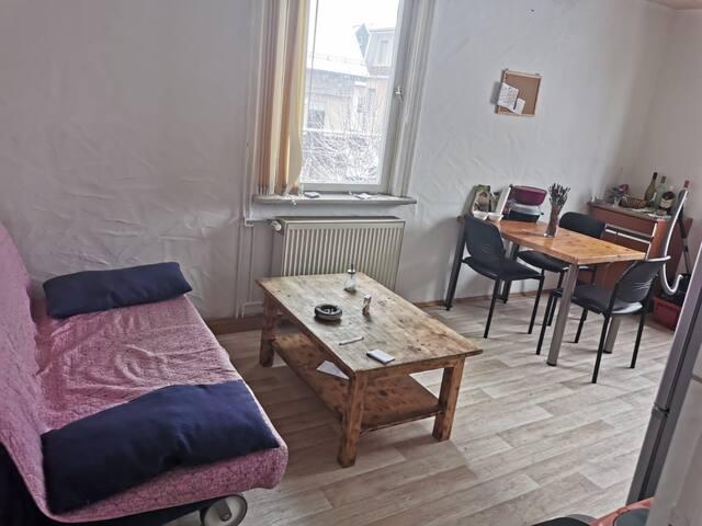 gemütliches Zimmer in Stadtnähe mit kleinen Garten