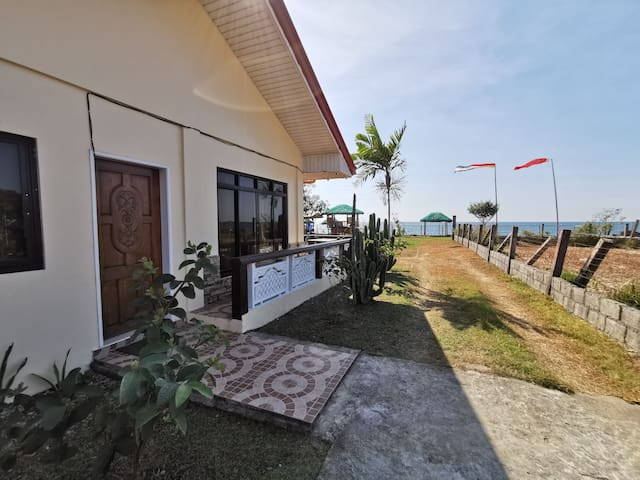 A beach front private resort in Bauang  La union