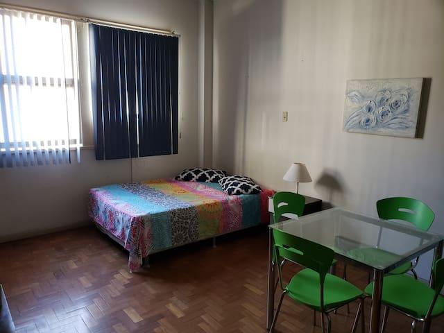 Apartamento simpatico e confortável, bom ambiente