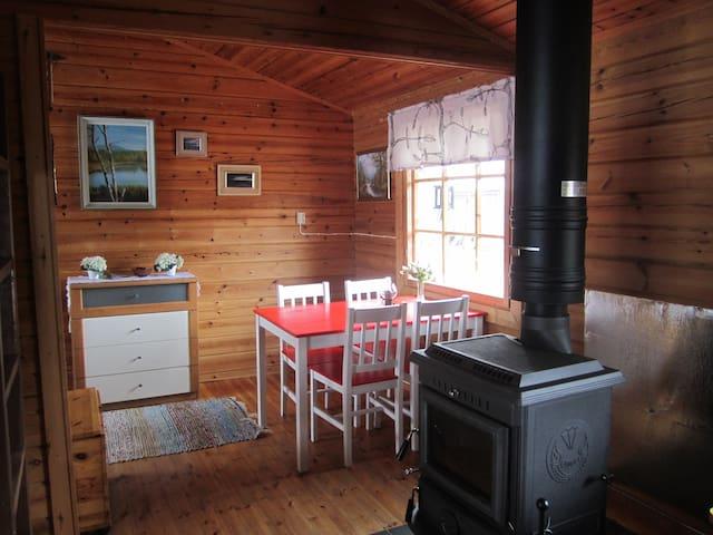 Mökin sisältä/Inside cabin