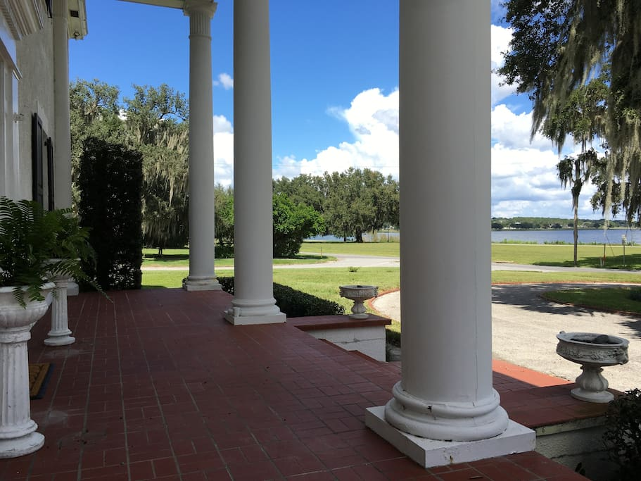 View of Lake Wailes from the front porch