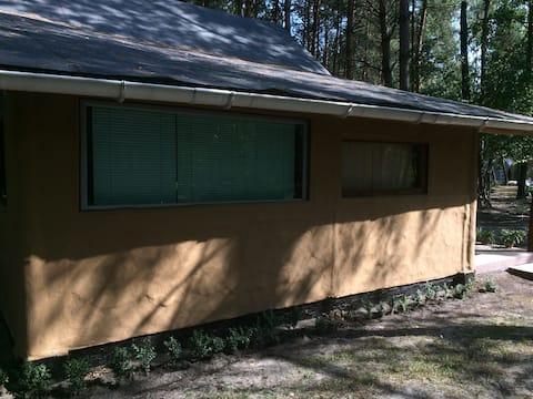 Уникальный, деревянный, автономный эко-домик.