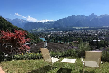 Swiss Alpine Panorama 1 - cozy, quiet room in Thun