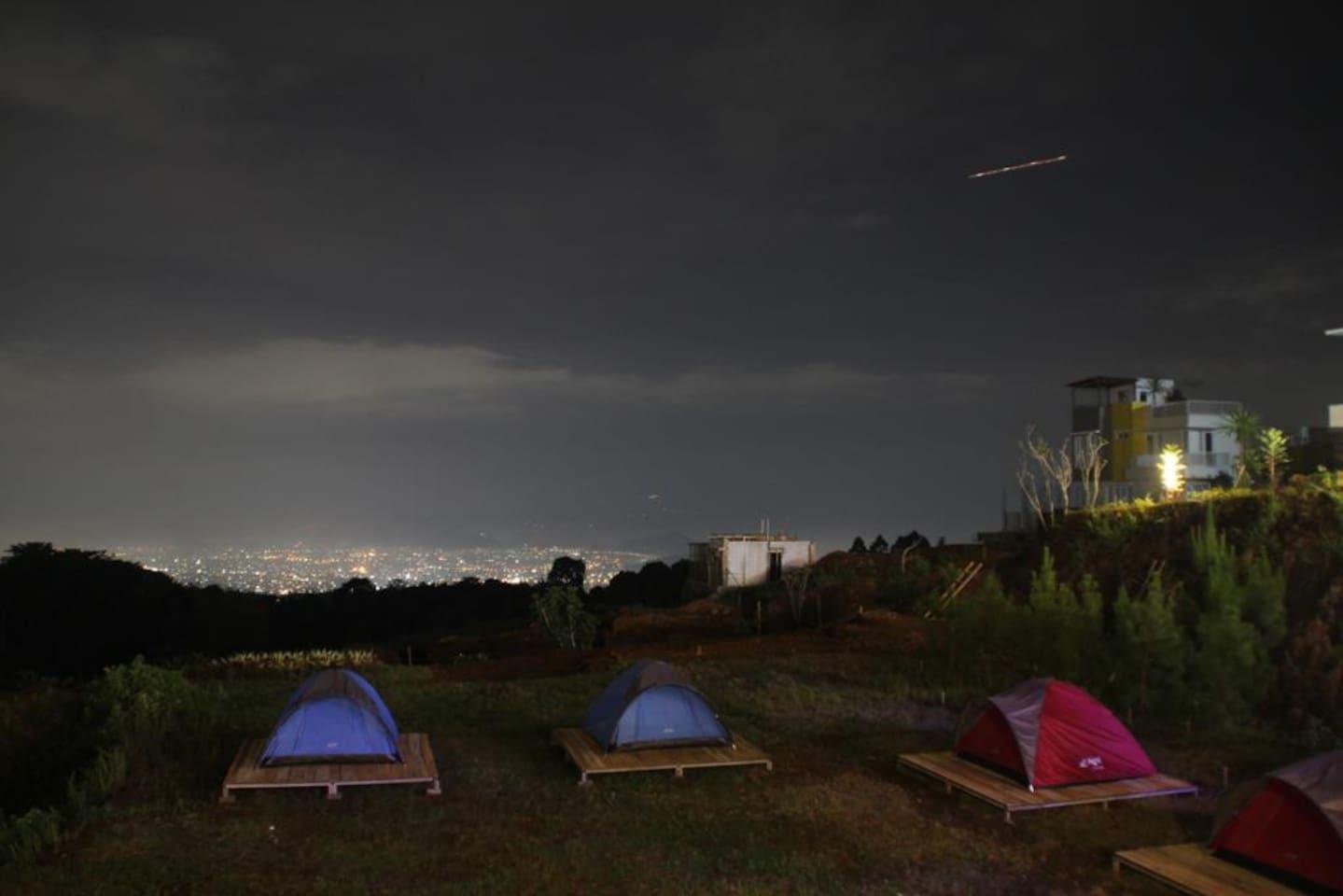 Tent Nighttime