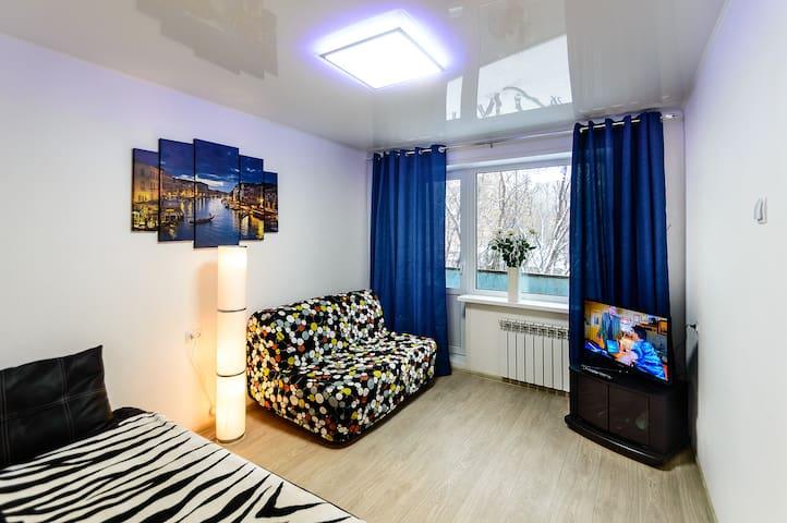 Уютная квартира на Московском шоссе - Samara - Apartment