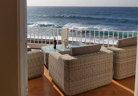 BELA VISTA Beach Villa OCEAN FRONT ! Paul do Mar