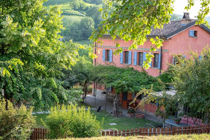 OLTREPÒ PAVESE  Casale in collina, pet friendly