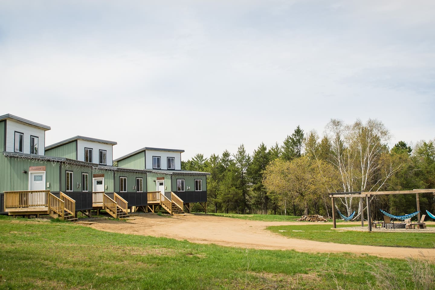 We have 3 bungalows available. Perfect place to have a family reunion.