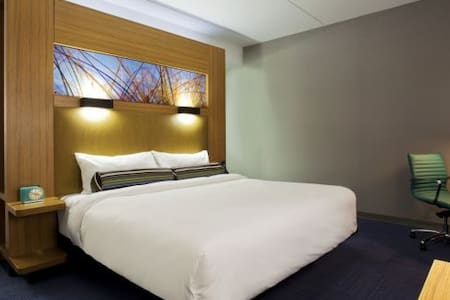 Jacksonville Aloft Hotel room - Jacksonville - Ris