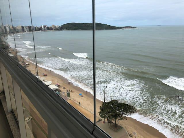 Apartamento luxo frente para o mar, Praia do Morro