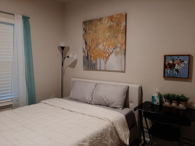 3#  New Bedroom with shared bath close to RTP/RDU