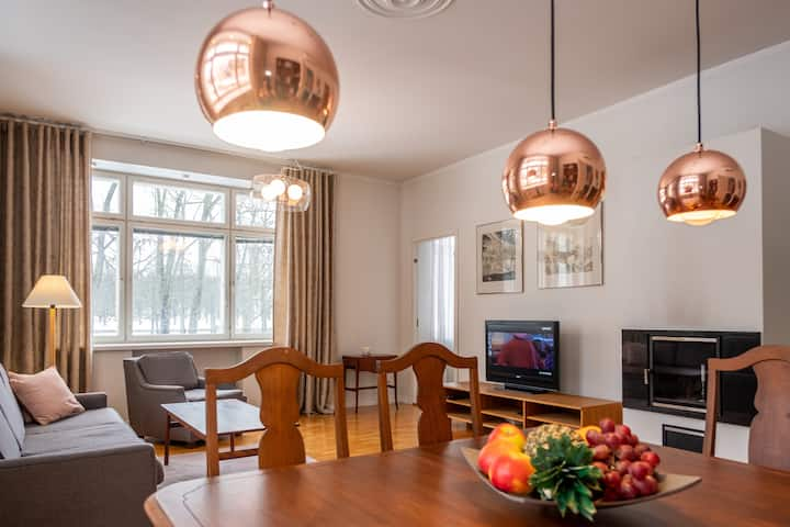 Unique Kadriorg Park View Apartment with Parking
