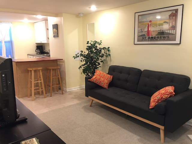Cozy Basement Suite Separate Entrance