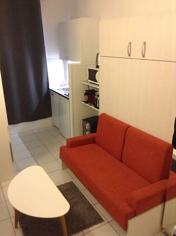 Studio proche Paris et transports - Levallois-Perret - Appartement