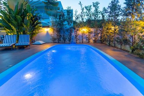 Casa de praia com piscina Ipioca Hibiscus Maceió
