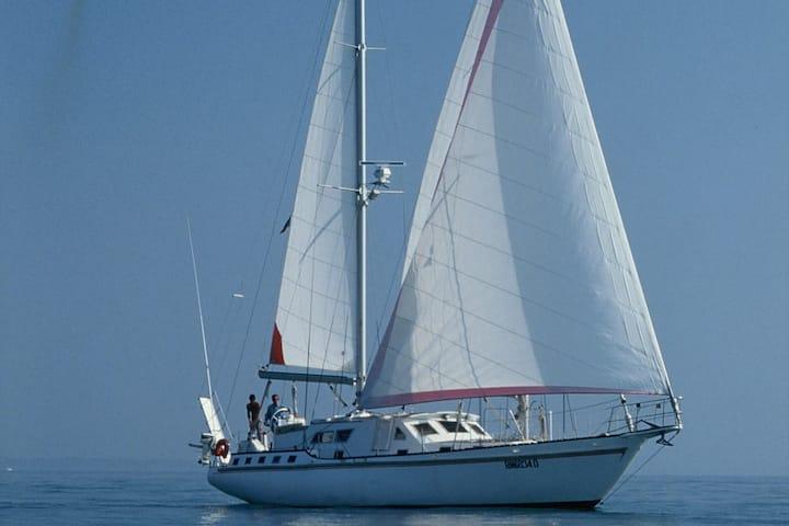 Croisière a bord d'un voilier Goélette de Prestige