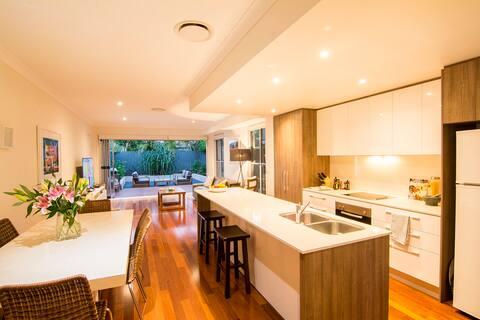 Open plan indoor/outdoor living