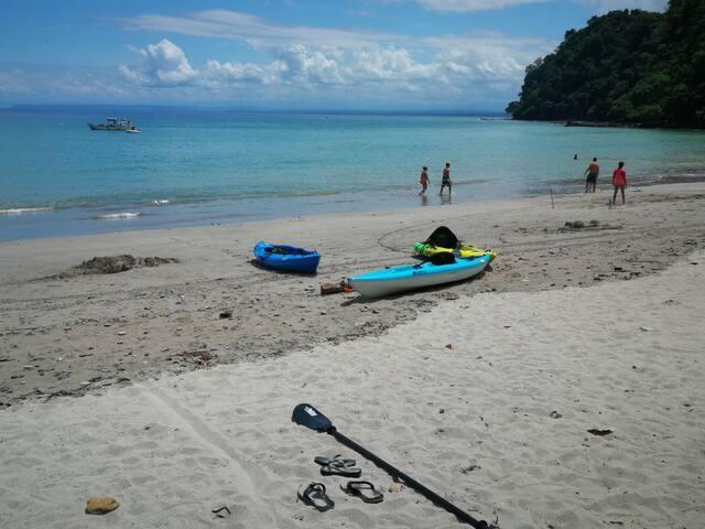 cerca de playas, ríos lugar agradable y tranquilo!