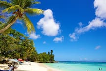 The lovely Dover beach is just a 30 second walk !