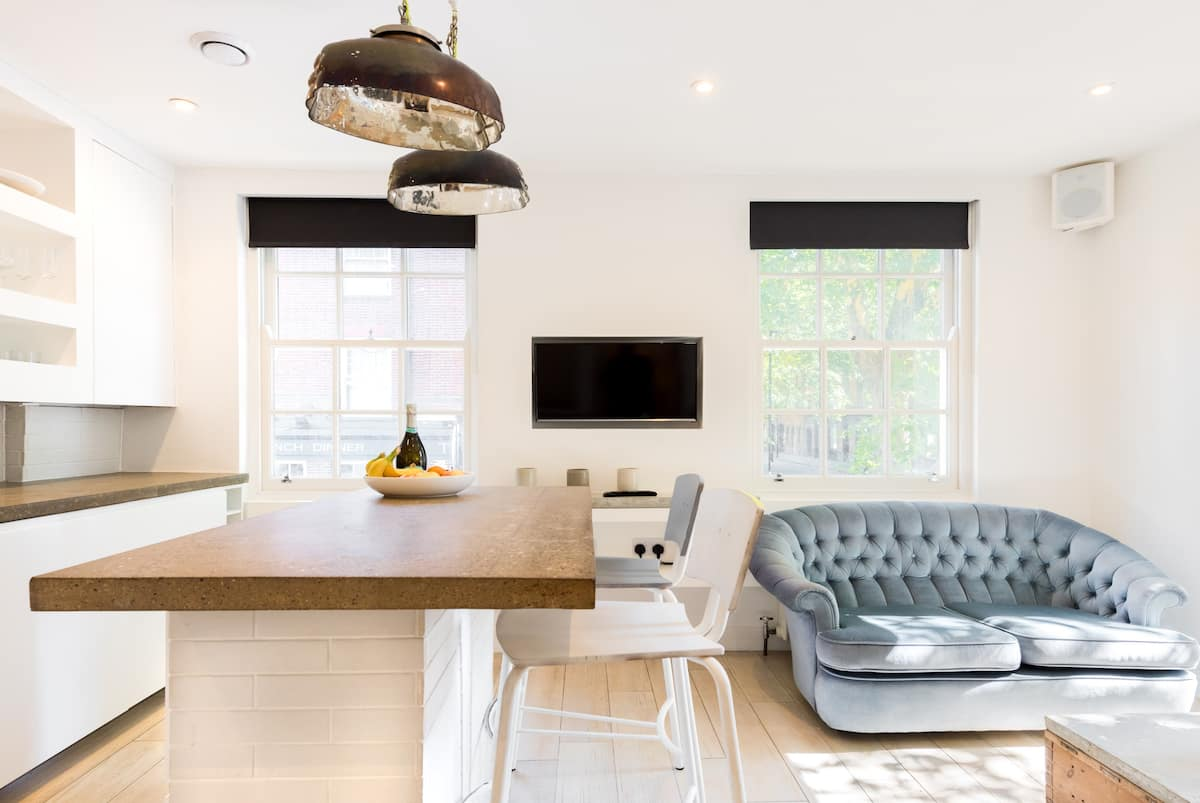 Minimalist Designer Flat in Central London