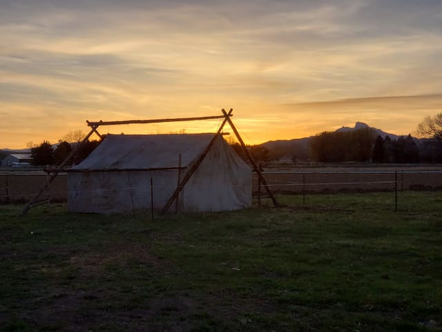 Happy Trails Rustic Cow Camp