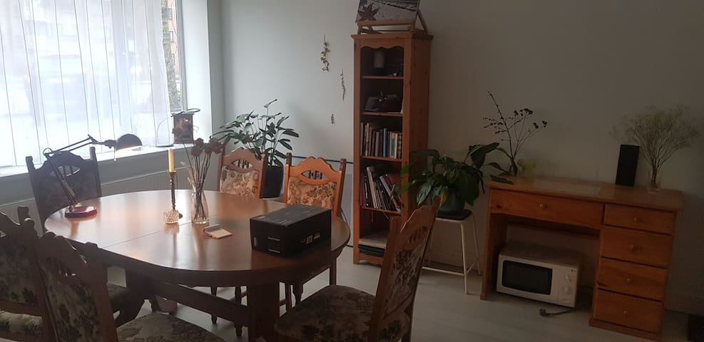 Cosy private room with garden in east Amsterdam