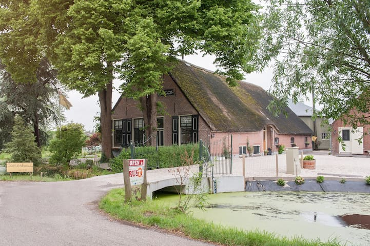 Farmhouse Vancation 4-6 pers. - Oudewater - Flat